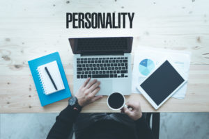 """remote work station with word """"personality"""""""