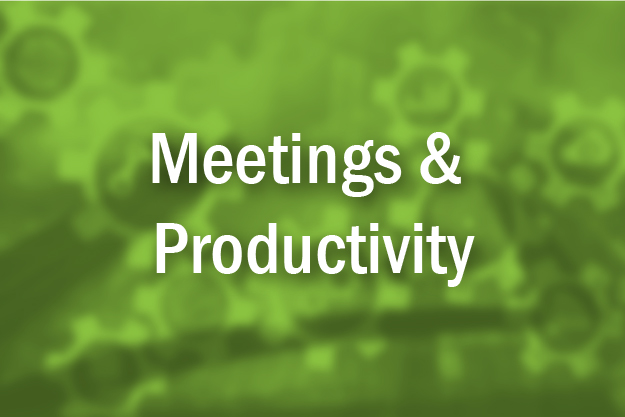 Meetings & Productivity
