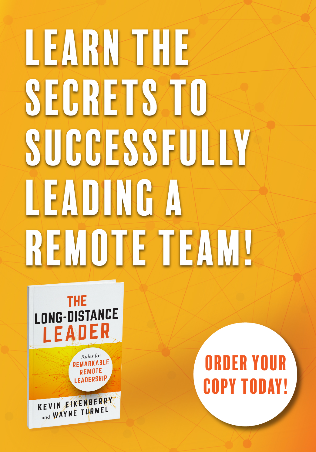 Order your copy of The Long-Distance Leader