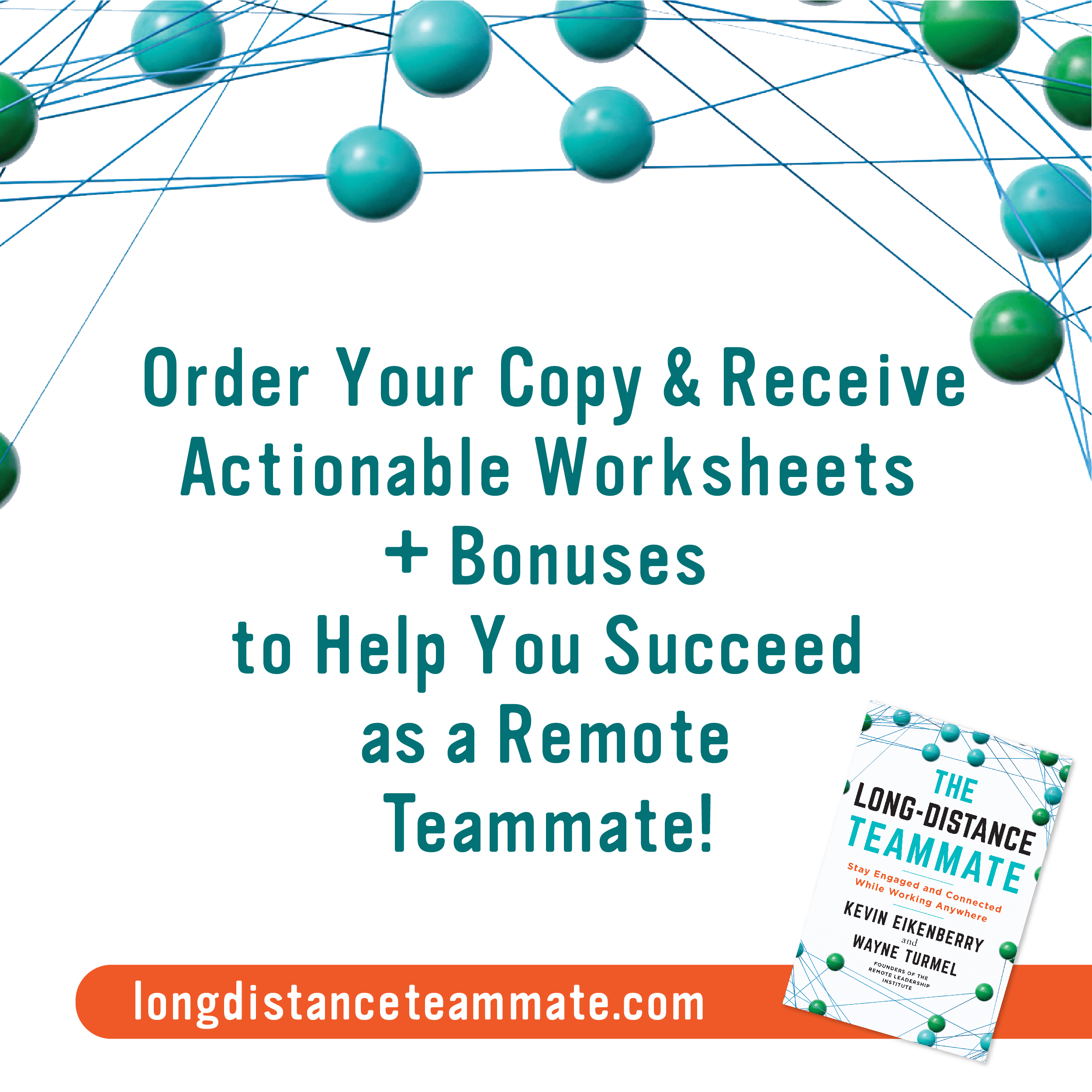 Order your copy of The Long-Distance Teammate