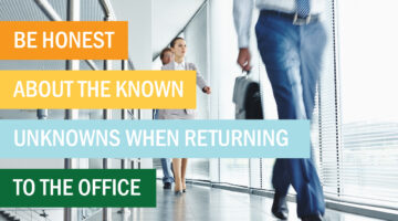 returning to the office